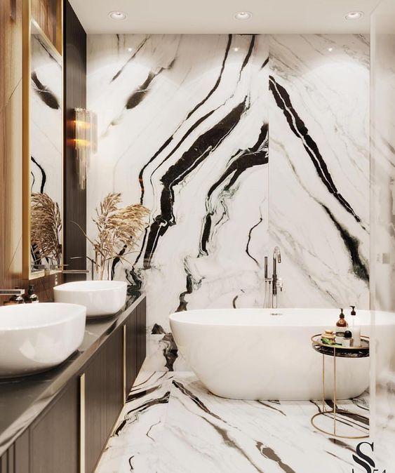 سرویس های بهداشتی با سنگ بوک مچ